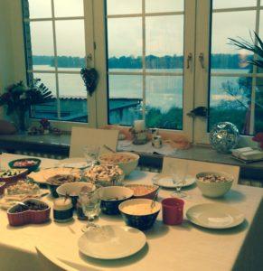 ужин семьи
