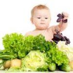 овощи и малыш