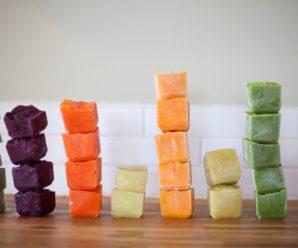 Советы для заморозки детского питания