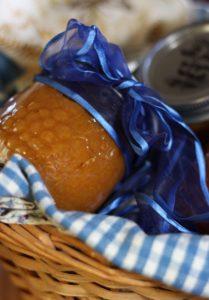пюре из груши, персика и тыквы