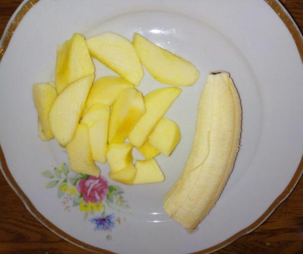 Банано-яблочное пюре