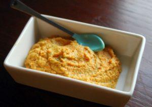 Пюре из моркови, яблока и картофеля