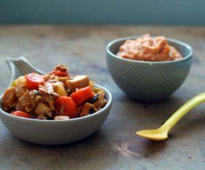 Морковь с курицей