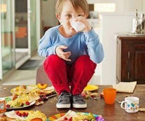 Ошибки родителей в питании детей