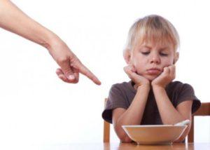 ошибки родителей