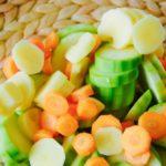 пюре из кабачка, моркови и картофеля
