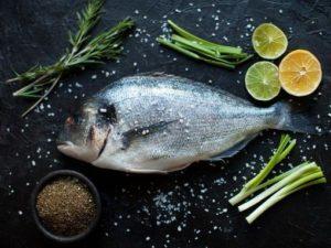 детский прикорм рыба
