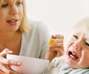 Если ребенок заболел прикорм