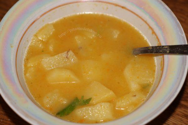 суп из гороха и бекона