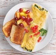 яичница на завтрак
