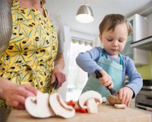 готовить с малышом