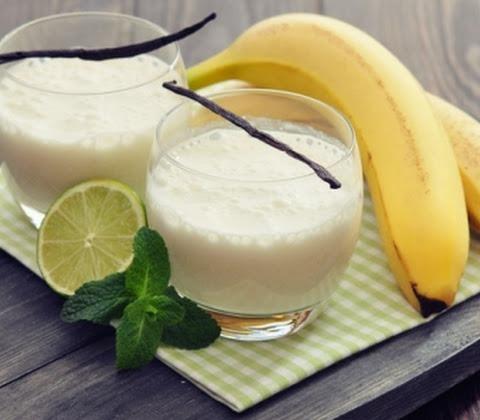 сливочно-банановый коктейль
