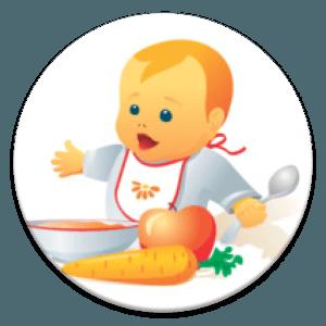 малыш и еда