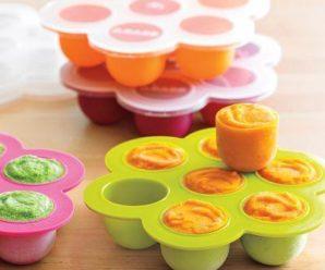 Как заморозить детское питание