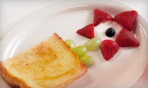 красивый мини-обед
