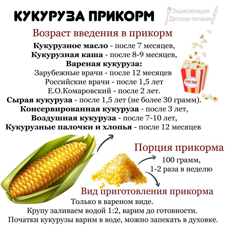 кукуруза прикорм