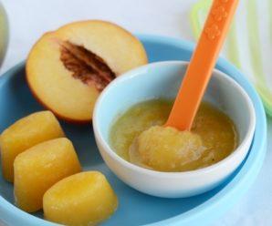 Персиковое пюре