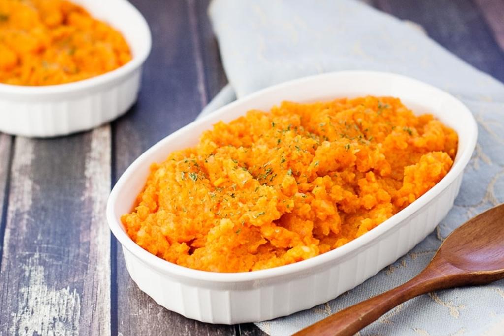 Пюре из репы и моркови