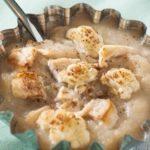 Пюре из цветной капусты, индейки и картофеля
