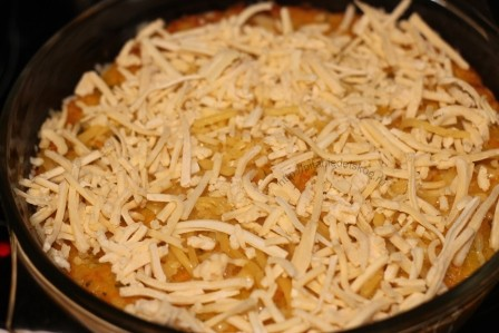 Морковно-рисовая запеканка