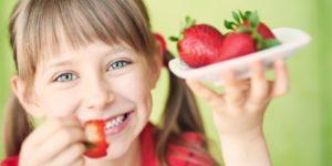 клубника в детском питании