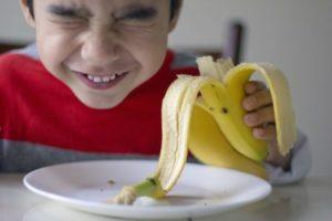 банан ребенок