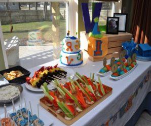 Детский праздничный стол на 5 лет