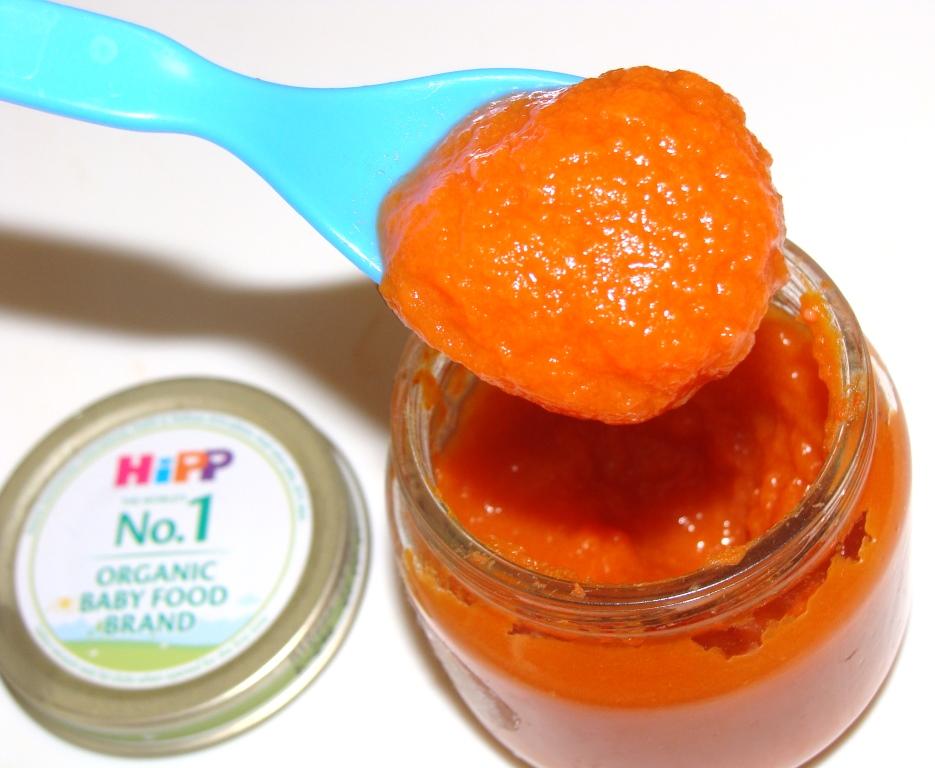 Детское пюре Морковь Hipp
