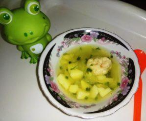 Рыбный суп для ребенка