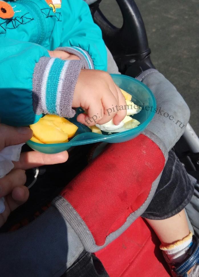 Завтрак на улице