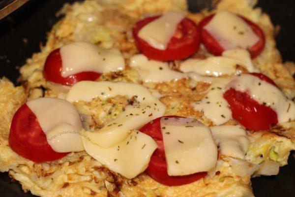 пицца из белокочанной капусты
