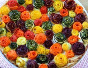 Пирог из кабачков и моркови