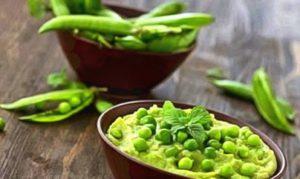 зеленый горошек прикорм