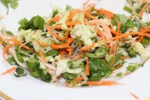 Салат из моркови и кольраби