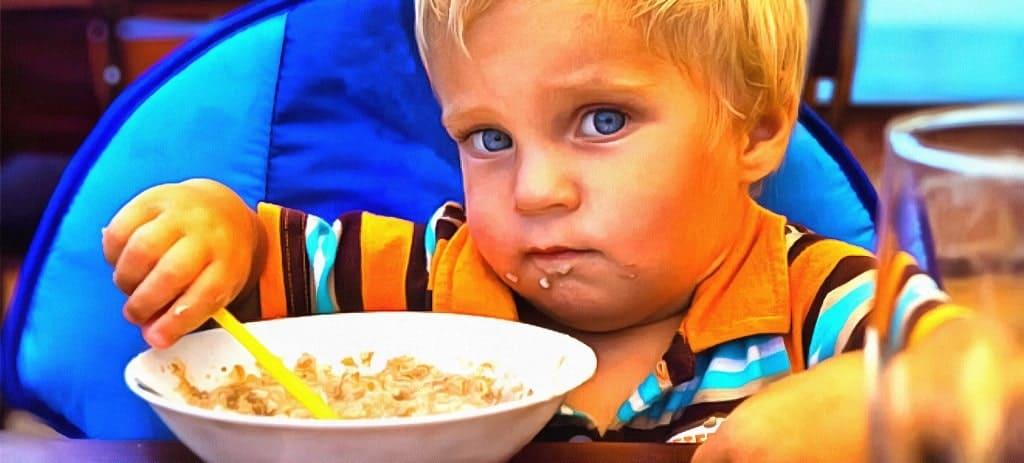 детское питание привычки привитые с детства