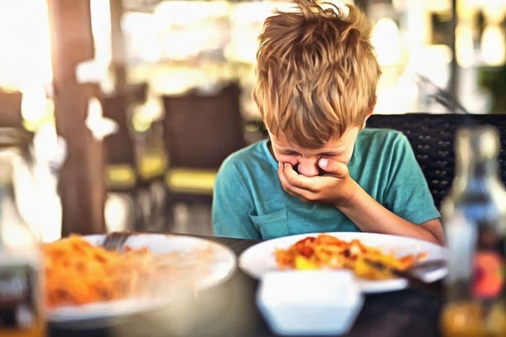 диета при отравление ребенка