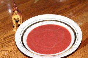 суп-пюре свекла