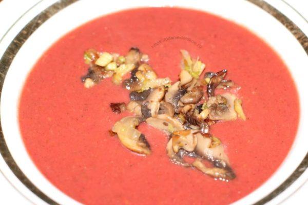 суп-пюре свела