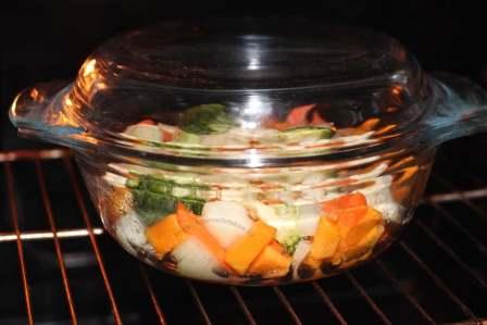 Овощи в духовку