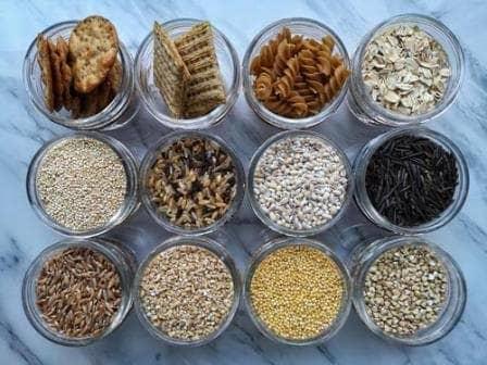 зерновые и крахмалы