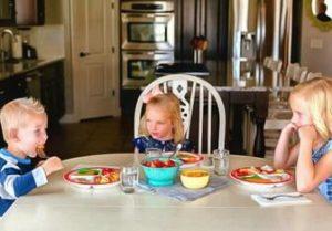 как накрывать стол для привередливого едока